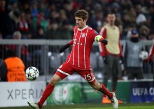 Müller am Ball