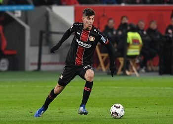 Havertz am Ball